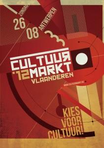 Logo cultuurmarkt 2012