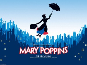 logo mary poppins